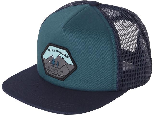 Helly Hansen HH Flatbrim Trucker Cap, blauw/zwart